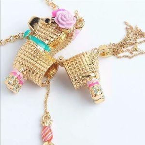 🛍Adorable Penny the piñata Necklace by Kate Spade